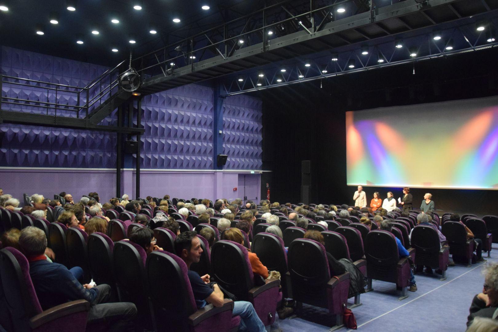 Cinéma avec public